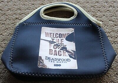 DEADWOOD THE MOVIE HBO 2019 WELCOME THE F**K BACK PROMO promotion LUNCH TOTE BAG