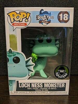 💚Funko Pop!💚Loch Ness Monster💚Popcultcha💚In Hand💚Mint💚Free Soft Protector