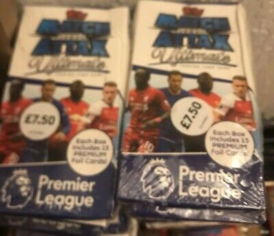 5 X Match Attax Ultimate 2018/19 Premier League 18/19 Sealed Packs