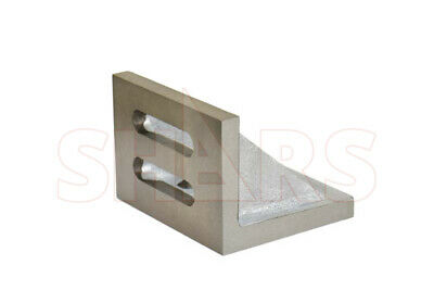 """Shars Precision Ground .0005"""" Webbed Slotted Angle Plate 3-1/2x3x2-1/2"""" New"""