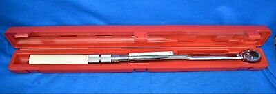 "Proto ¾"" Drive Ratcheting Head Micrometer Torque Wrench J6018AB"