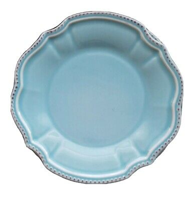 Rare PRIMAGERA Antique Turquoise PORTUGAL TEAL Dinner plateSet of 4 more avail