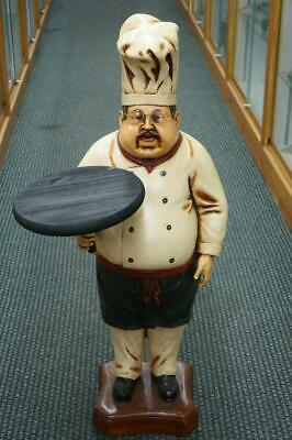 Large Restaurant Chef Baker Store Display Table Top Figure Decor Advertising