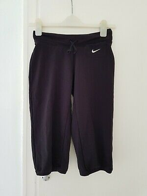 Teenager Older Girl's Nike Just Do It  Black Sports Cropped  Leggings 12-13 Yrs