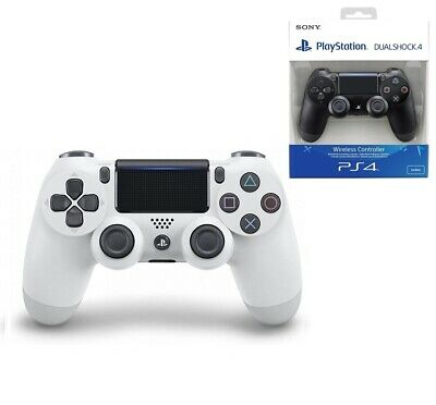 Sony PS4 Dualshock 4 Wireless Controller (White) V2 BRAND NEW SEALED - FREE POST
