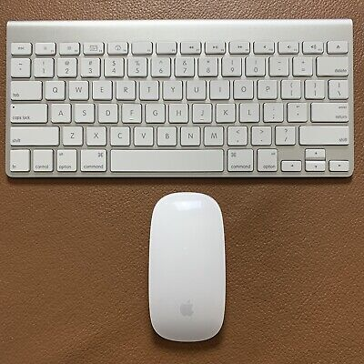 Apple Genuine Pre-Owned Wireless Magic Keyboard 1 and Mouse 1 Bluetooth