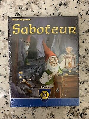 Saboteur Card Game Frèderic Moyersoen Dwarf Mining Family Ages 8+ 3-10 Players