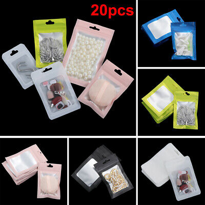 Foil Self Seal Waterproof Ziplock Bags Storage Reclosable Pouches Packaging Bag