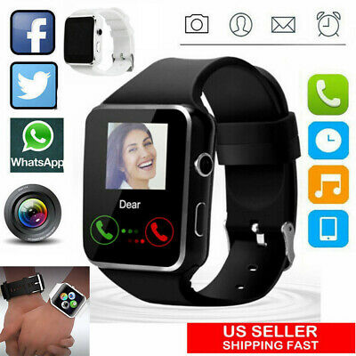 A1 Waterproof Smart Watch Wireless GSM SIM Phone Camera For Android/iOS