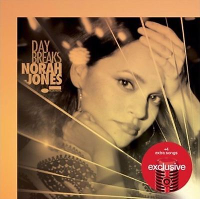 NORAH JONES Day Breaks LIMITED EDITION EXPANDED TARGET CD With 4 BONUS TRACKS