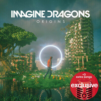 IMAGINE DRAGONS Origins LIMITED EDITION EXPANDED TARGET CD TWO BONUS TRACKS NEW