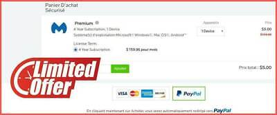 The Best ANTI-MALWARE PREMIUM 95% OFF DISCOUNT CODE 4 YEARS SUBSCRIPTION