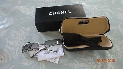 Chanel 4051  Rimless, Gradient Sunglasses c/w Case/Box & Instructions.