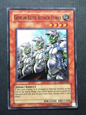 Goblin Elite Attack Force CRV Super Rare - Yugioh Cards #16G