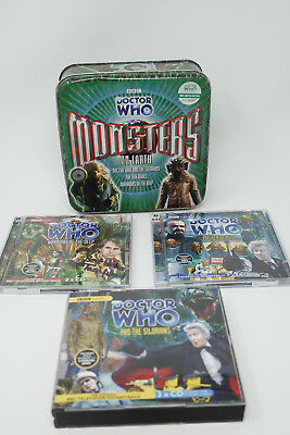 Doctor Who Monsters on Earth Audio Books- Signed and Numbered