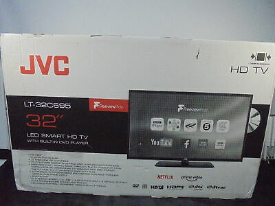 """JVC LT-32C695 32"""" Smart LED TV with Built-in DVD Player - Currys DAMAGED BOX"""