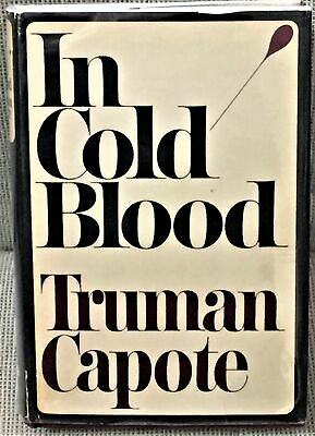 Truman Capote / IN COLD BLOOD First Edition 1965