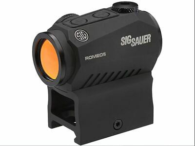 New Sig Sauer Romeo5 Compact Red Dot 1x20mm 2 MOA Dot Reticle - SOR52001