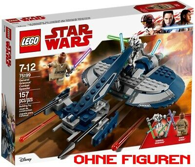 LEGO Star Wars 75199 Set - General Grievous Combat Speeder - NEU - OHNE Figuren