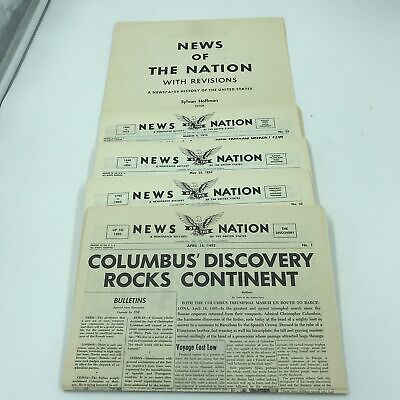 NEWS of the NATION Newspaper History of the United States Sylvan Hoffman Editor