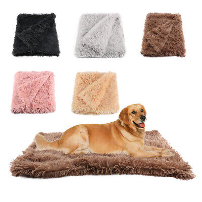 Extra Large Soft Cosy Winter Warm Pet Dog Puppy Cat Animal Bed Blanket Throw UK