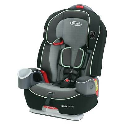Graco Nautilus 65 3-in-1 Harness Booster Car Seat, Landry Lime