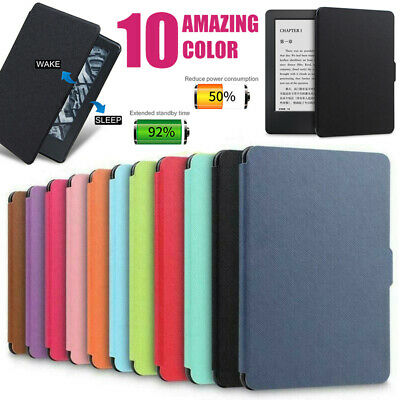 For Amazon Kindle Paperwhite 4 10th Gen Ultra Slim PU Leather Case Smart Cover