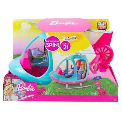 Barbie Mettel Helicopter Accessories Fun for girls New