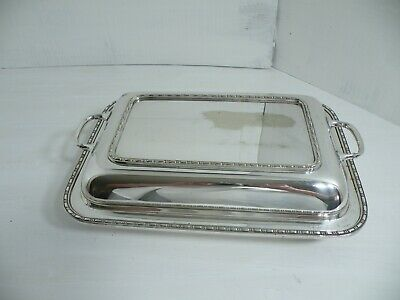 Vintage Silver Plated Tureen Serving Dish England