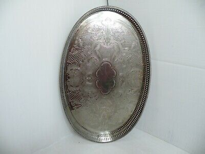 Vintage Silver Plated Serving Tray Arthur Price Of England