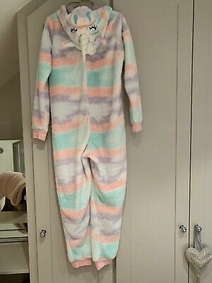 Girls Marks and Spencer's unicorn One piece aged 11-12 years perfect condition.