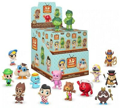 Funko ad icons mystery minis 2.5 inch vinyl figure (one figure only) New