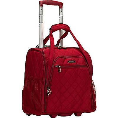 Rockland Luggage: Wheeled Underseat Softside Carry-On BF31 Several Color Choices
