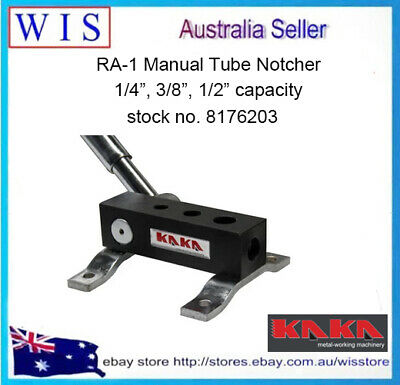 "RA-1 Manual Tube Notcher,1/4"",3/8"",1/2"" Light Weight,High Precision Pipe Notcher"
