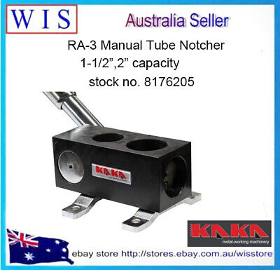 "RA-3 Manual Tube Notcher,1-1/2"",2"",Solid Construction Tubing Notcher-8176205"