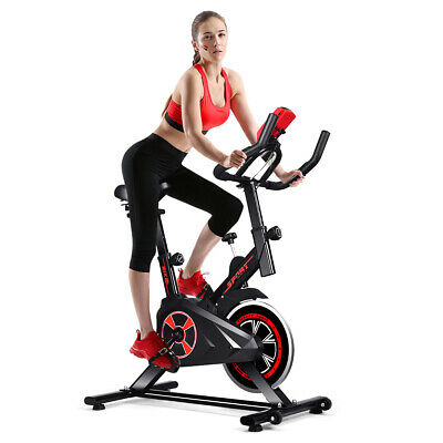Indoor Cycling Exercise Bike Gym Trainer Fitness Stationary Bike Office Cardio
