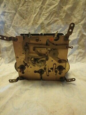 Old Clock Movement For Spares Or Repairs No 3