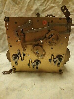 Old Drp 15 cm Clock Movement For Spares Or Repairs No 5