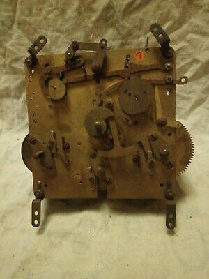 Old Baden Clock Movement For Spares Or Repairs No 7