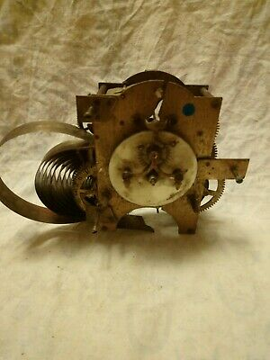 Old Ansonia Clock Movement For Spares Or Repairs No 25