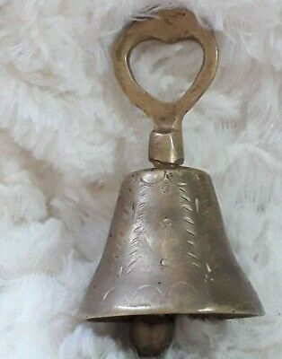 Ancient Roman Medieval Bronze Bell Rare Artifact Circa 10th Century Ad