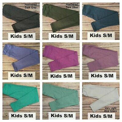 Kids S/M LuLaRoe Solid Leggings ***PICK YOUR COLOR*** Fits 2-8; FREE SHIPPING!