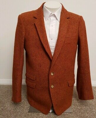 """Mens Montague Harris Pure New Wool Blazer Pit To Pit 21""""in S-M"""