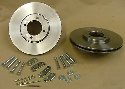 Ford Escort MK1 MK2 Group 1 Vented Disc Kit