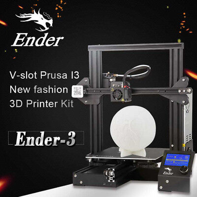 Creality Ender 3 3D Printer Resume Print OSHW Certified 15A 24V 220X220X250mm