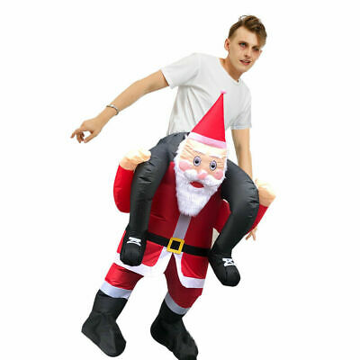 Christmas Adult Inflatable Fancy Dress Costume Unisex Funny Outfit Costume Suit