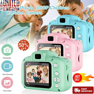 Mini Digital Camera Camcorder Video 1080P For Children Kids Xmas Gift Q513 UK