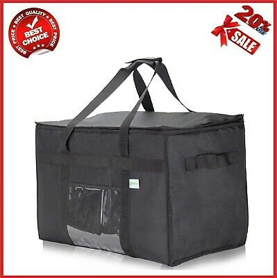 Kibaga Commercial Insulated Food Delivery Bag XXL - 23 X 14 X 15 Inches Waterpro