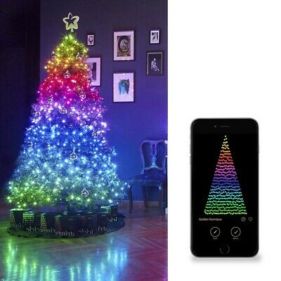 Twinkly Christmas Lights 400LED Multicolor Strings Linear 3200CM Controlled From