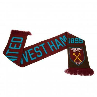 West Ham United NR Scarf New Official Licensed Product SC